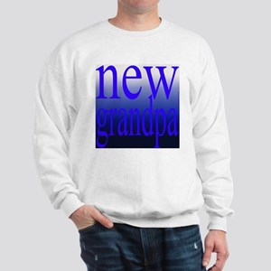 108a. new grandpa [blue grade Sweatshirt